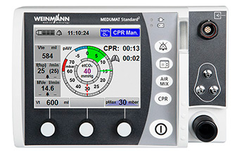 Medical ventilator MEDUMAT Standard²