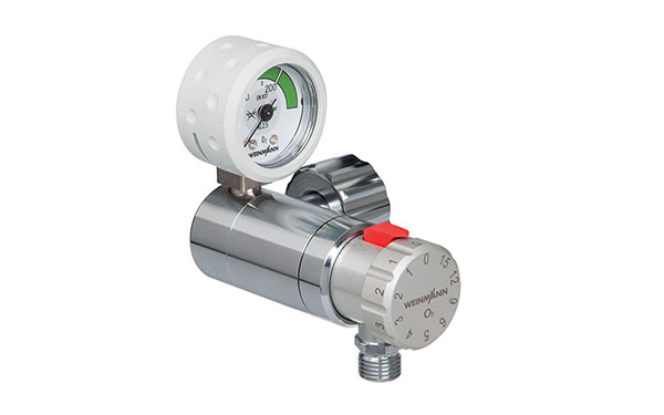OXYWAY pressure regulator for medical oxygen