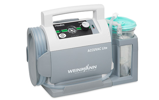 ACCUVAC Lite with disposable canister system