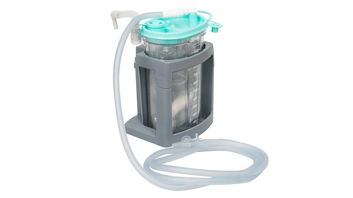 Accessories for portable suction machines