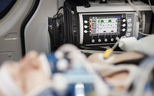 Capnography MEDUMAT Transport
